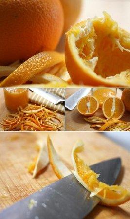 Засахаренные апельсиновые корки в шоколаде