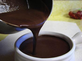 Цитрусовый рецепт горячего шоколада