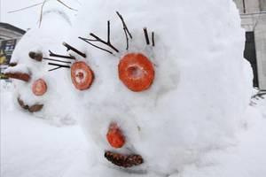 В Москве сделают шестиметрового снеговика из зефира