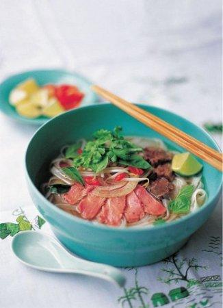 Восточный суп Фо Бо с говядиной