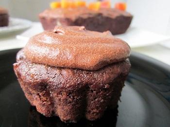 Вкусные шоколадно-кофейные кексы