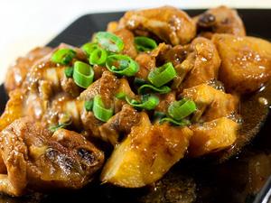 Картофель с курицей на ужин