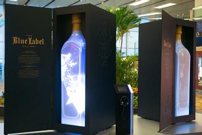 3D-выставка виски