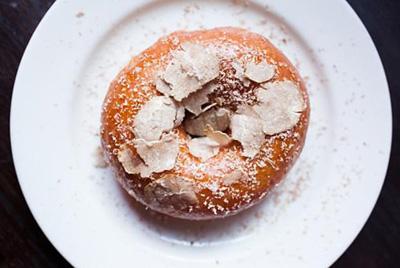 Пончики с белым трюфелем