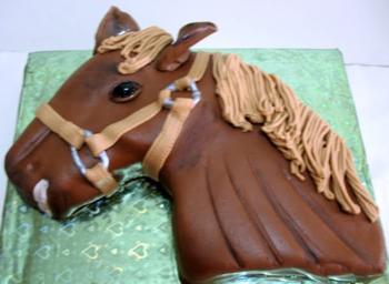 Шоколадный торт «Арабский скакун»