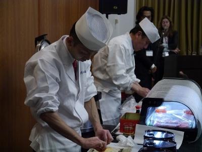 В Посольстве Японии показали душу и технику японской кухни
