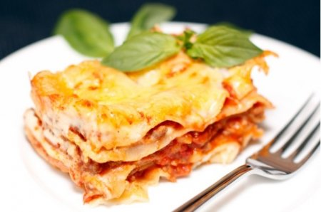 Рецепт приготовления лазаньи