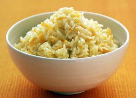 Рис с имбирем и луком
