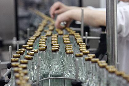 Производство водки в России снизилось