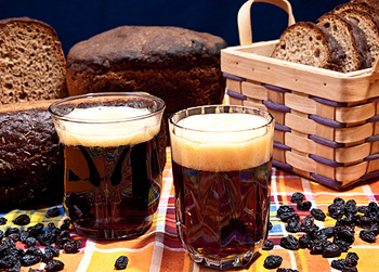 Кисель из ржаного хлеба