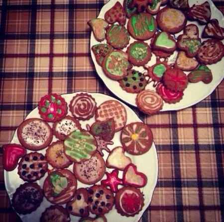 Рецепт печенья с ароматом корицы и имбиря