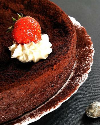 Трюфельный французский пирог