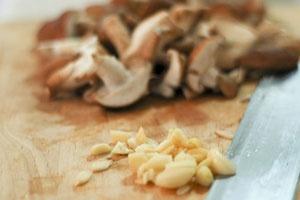 Гречка с грибами и курицей