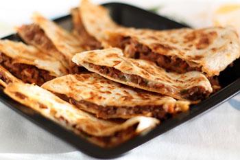 Тортилья с картофелем и ветчиной