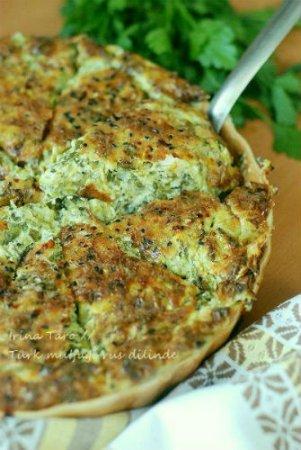 Запеканка из кабачков и сыра (Frnda Kabak Mcveri)