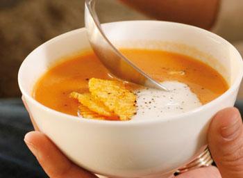 Овощной суп из кабачка