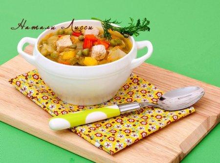 Крестьянский суп - очень по-летнему