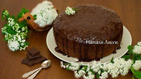 Ну очень шоколадный кекс с секретом