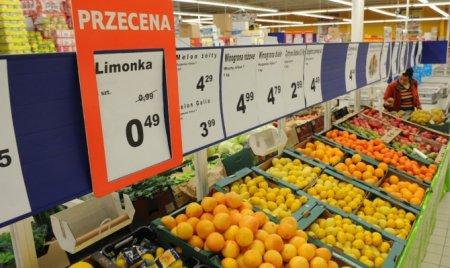 Очередной запрет - на овощи и фрукты из Польши