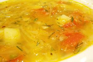 Суп с капустой