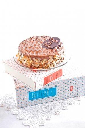 Julia Child, Reine de Saba — Шоколадно-миндальный торт