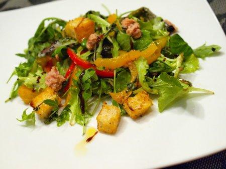 Салат с тунцом и сладким перцем
