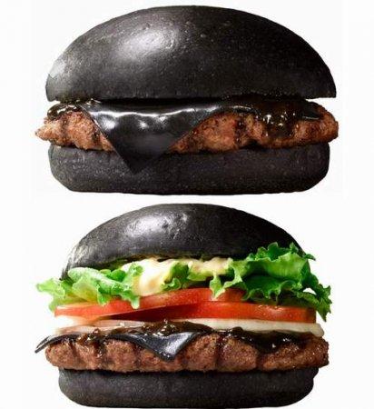 Черные бургеры будут продавать в Японии