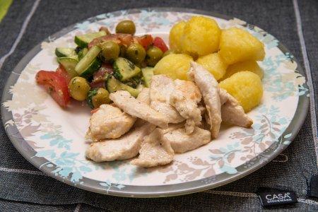 Жареные кусочки курицы от Ле Кордон Блю