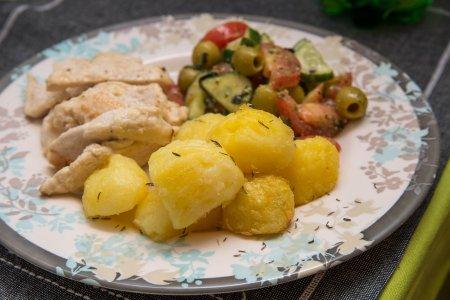 Запеченная хрустящая картошечка от Ле Кордон Блю