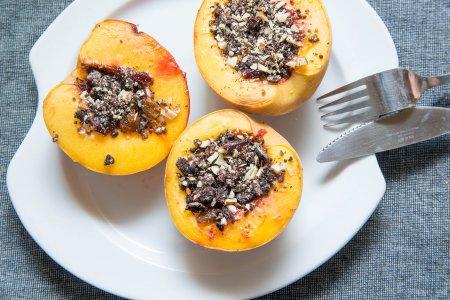 Запеченные фрукты (половинки) от Ле Кордон Блю