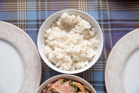 Рис по-тайски с кокосовым молоком от Ле Кордон Блю