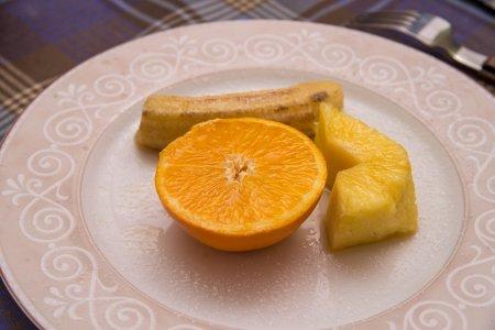 Запеченные фрукты в фольге