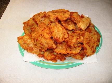 Филе курицы в сырном кляре