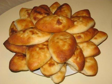 Пирожки на кефире в духовке