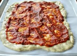 Простая пицца в домашних условиях