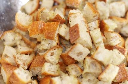 Сухарики из хлеба в духовке