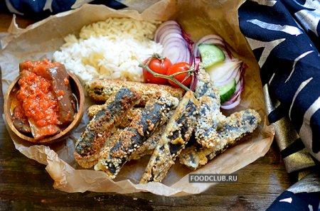 Вегетарианская «жареная рыбка»