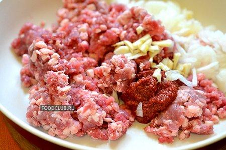 Блинчики с мясом праздничные