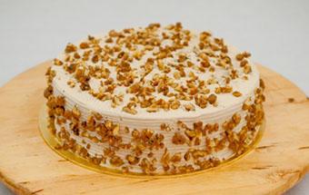 Торт сметанный со сгущенкой