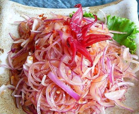 Салат из лука