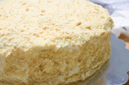 Простой медовый торт