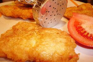 Рыба жареная в тесте