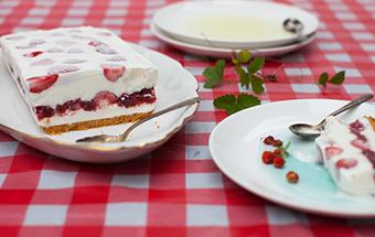 Торт сметанный с желатином
