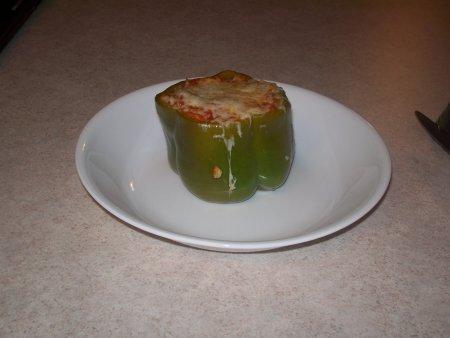 Перец фаршированный в духовке