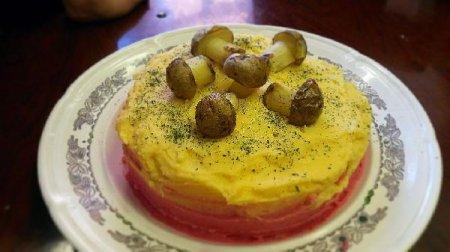 Картофельный Торт Пюре