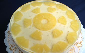 Торт творожный с желатином