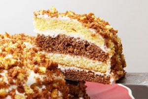 Торт «Сметанник» классический
