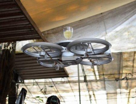 Летательные аппараты – вместо официантов