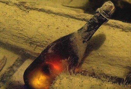 Самое старое послание в бутылке обнаружили в Северном море