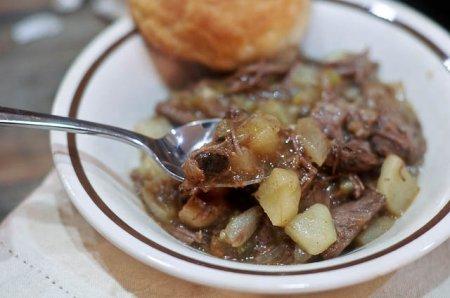 Жаркое с картошкой и мясом